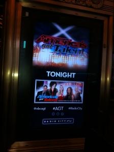 At Radio City Music Hall
